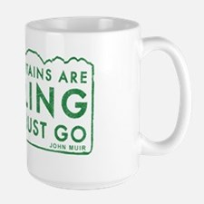 John Muir Mountains Calling Mug