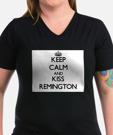 Keep Calm and Kiss Remington T-Shirt