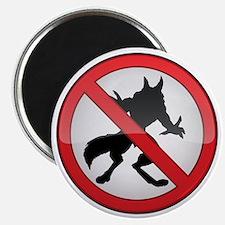 No Werewolves Magnet