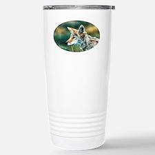 desert coyote Travel Mug