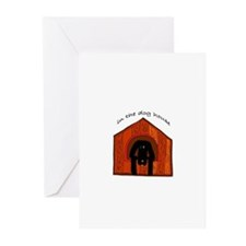 In The Dog House Greeting Cards (Pk of 10)