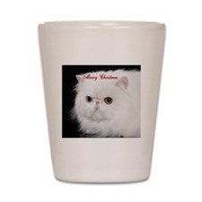 Persian Cat Ornament Shot Glass