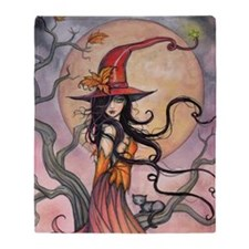 Autumn Magic Throw Blanket