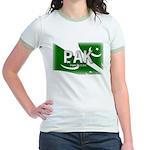 Pakistan Pride Jr. Ringer T-Shirt