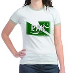 Pakistan Pride Jr. Ringer T-Shirt