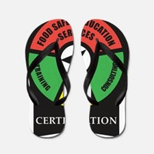 FoodSafetyEducationServices Flip Flops
