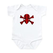 Alien Jolly Roger Multi Color Infant Bodysuit