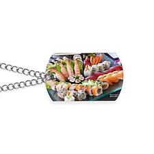 Large Shrimp, Salmon, California Roll Etc Dog Tags