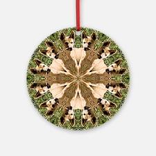 Dingo Mandala Ornament (Round)