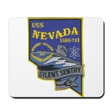 USS NEVADA Mousepad