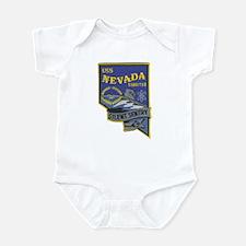 USS NEVADA Infant Bodysuit