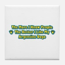 Like Dogo Tile Coaster