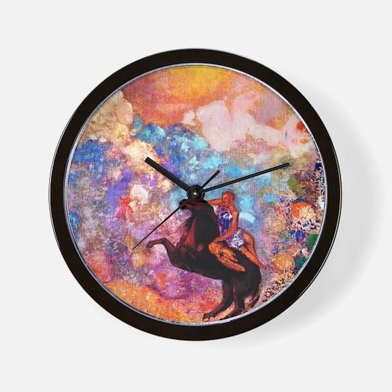 Odilon Redon Wall Clock