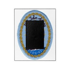 uss john adams patch transparent Picture Frame