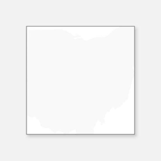 "OhioBlank Square Sticker 3"" x 3"""