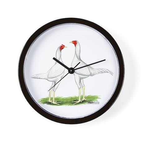White Modern Games Wall Clock By Jackynet