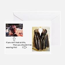 Fur Shame Greeting Card