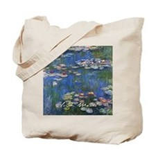 Claude Monet Water Lilies Tote Bag
