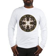 Kangaroo Mandala Long Sleeve T-Shirt