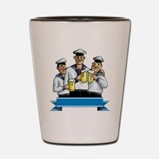 sailor men Shot Glass