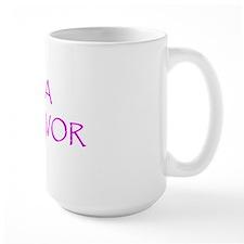 Breast cancer awareness i am pink ribbo Mug