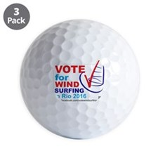 Vote for Windsurfing in Rio 2016 Golf Ball