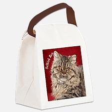 Selkirk Rex Kitten Ornament Canvas Lunch Bag