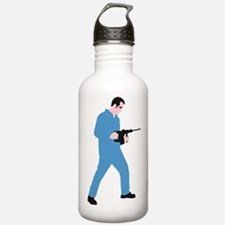 power drill worker Water Bottle