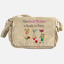 social 4 Messenger Bag
