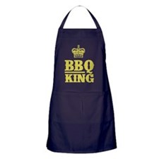 BBQ King Gold Apron (dark)