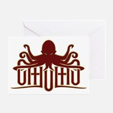 Lovecraft - Cthulhu Logo Greeting Card