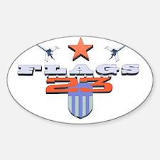 Flags 23 - Sci-fi Logo Decal