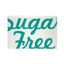 Sugar Free Text Rectangle Magnet