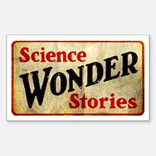 Science Wonder Stories Sticker (Rectangle)
