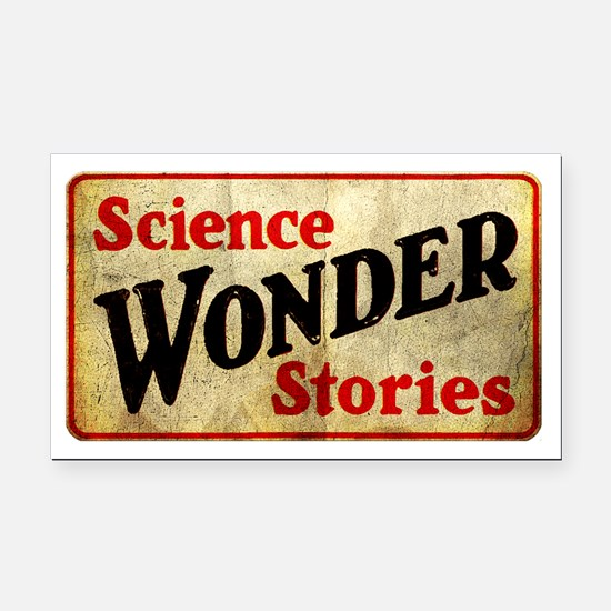 Science Wonder Stories Rectangle Car Magnet