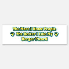 Like Berger Bumper Bumper Bumper Sticker
