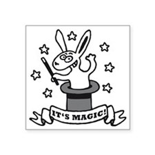 "its magic Square Sticker 3"" x 3"""