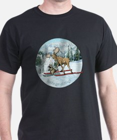 Lets go skiing! T-Shirt