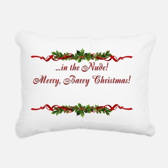 Sphynx Cat Christmas Car Rectangular Canvas Pillow