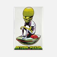 Return of the Mekon scifi vintage Rectangle Magnet