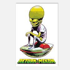 Return of the Mekon scifi Postcards (Package of 8)