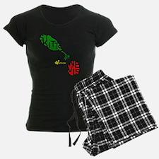 St. Kitts  Nevis Pajamas