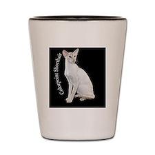 Colorpoint Shorthair Cat Ornament Shot Glass