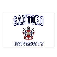 SANTORO University Postcards (Package of 8)