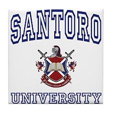 SANTORO University Tile Coaster
