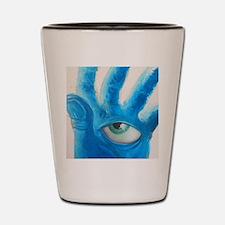 A Watchful Eye Shot Glass