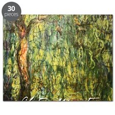 Claude Monet Weeping Willow Puzzle