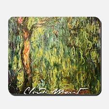 Claude Monet Weeping Willow Mousepad