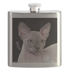 Sphynx Cat Ornament Flask