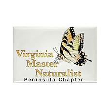 Smaller VMN Peninsula chapter log Rectangle Magnet
